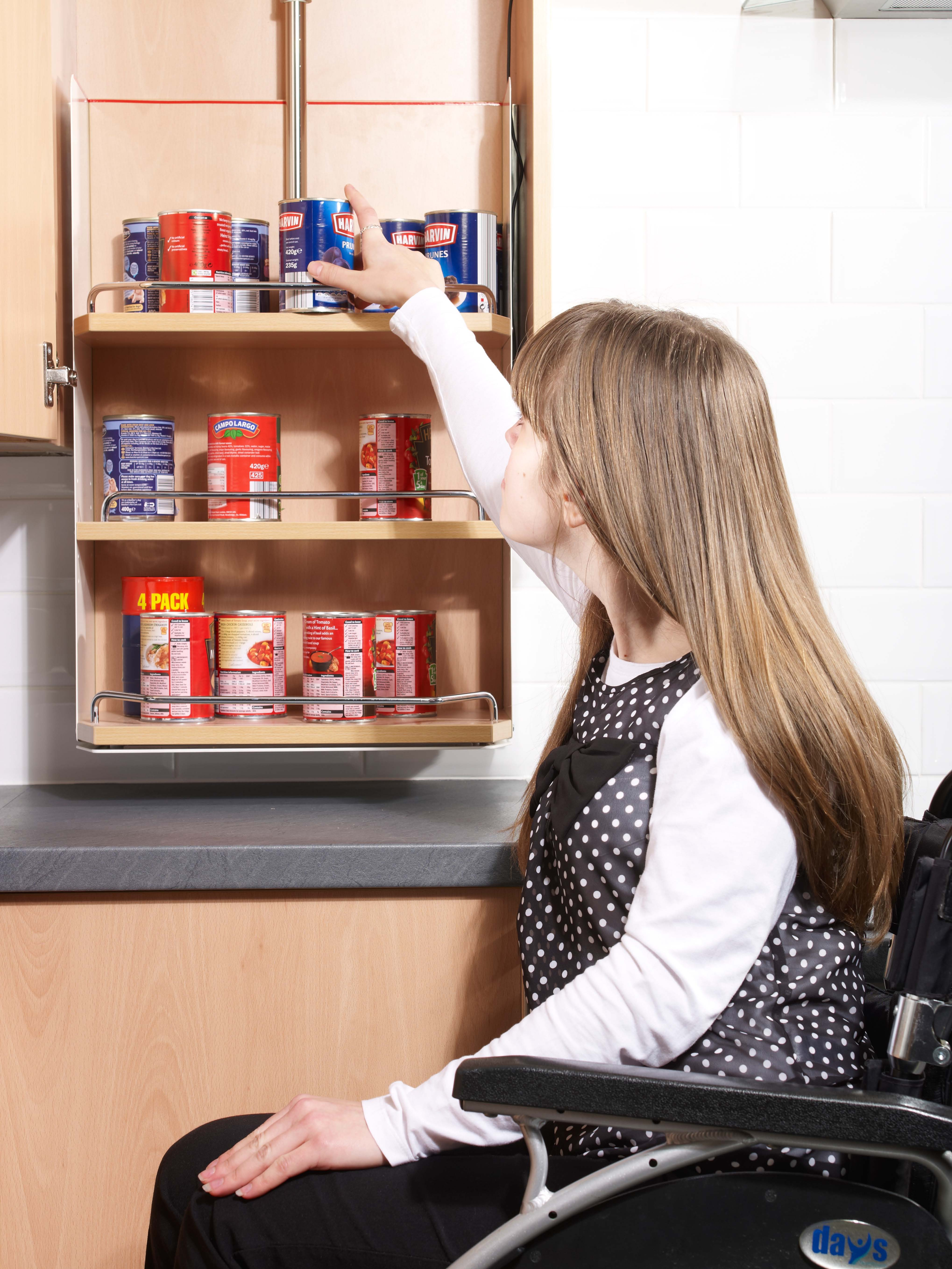 Kbsa accessible kitchens kbsa for Wheelchair accessible kitchen cabinets