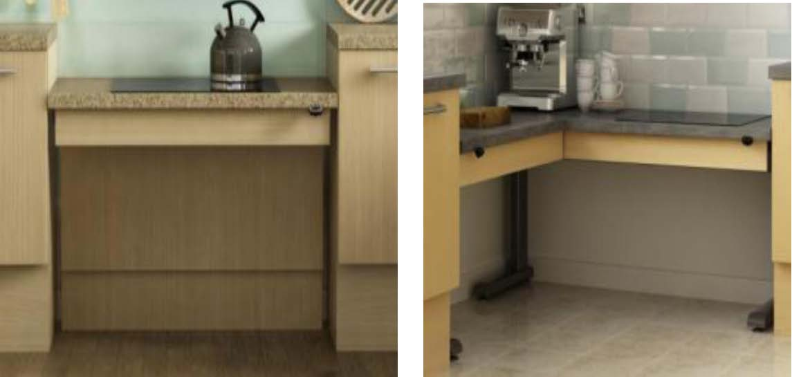 wheelchair accessible kitchen cabinets kbsa accessible kitchens kbsa 1243