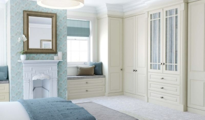 Fitted furniture keeps all sizes of room organised and tidy