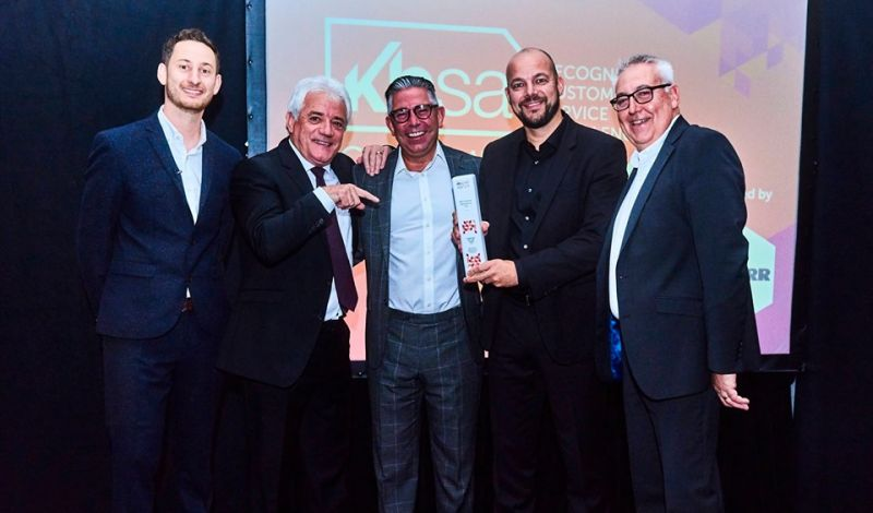 BSH Home Appliances Ltd were announced as the night's first winners, walking away with the Supplier of the Year 2019 Award