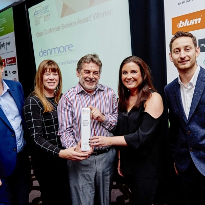 CUSTOMER SERVICE AWARD ANNOUNCED AT KBSA NETWORKING DINNER
