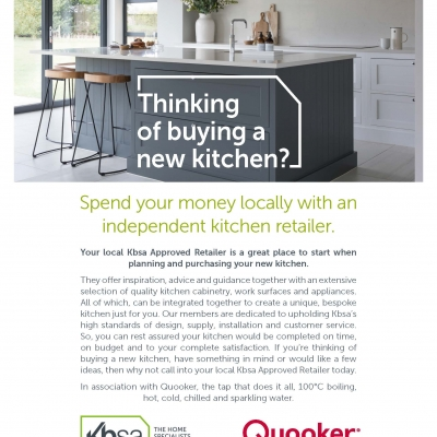 Kbsa and Quooker Consumer Offer Reaches 1.2 Million Readers