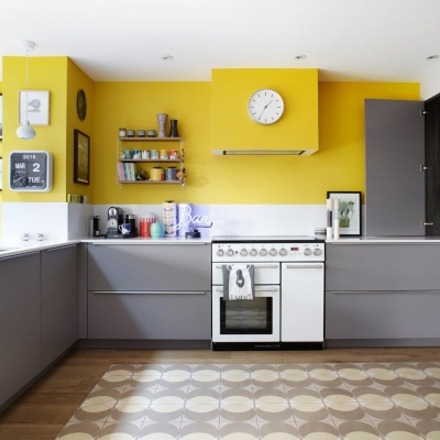 Bold and Colourful Kitchens
