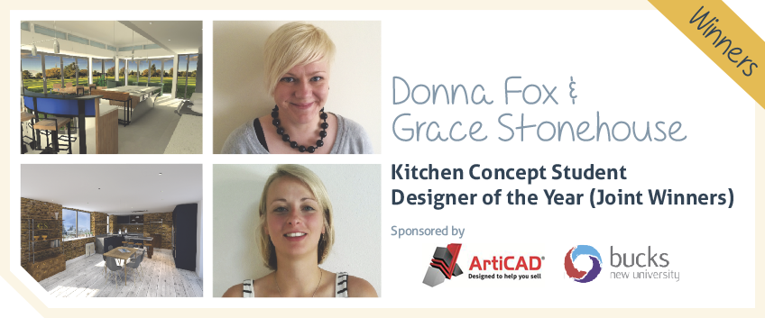 Kitchen Concept student designer of the year - Donna Fox and Grace Stonehouse